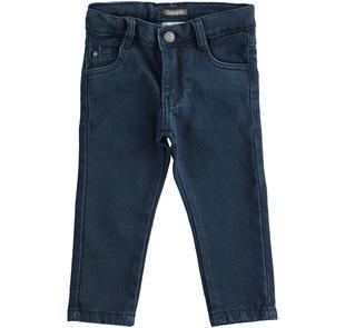 Pantalone in maglia effetto denim sarabanda NAVY-7775