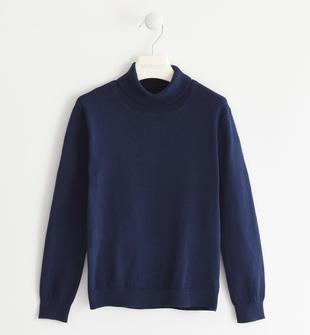 Morbidissimo maglione in tricot sarabanda NAVY-3854