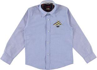 Camicia 100% cotone con fazzolettino rigato sarabanda AVION - 3621