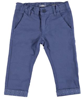 Pantalone lungo slim fit in cotone elasticizzato sarabanda INDIGO-3653