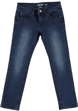 Jeans modello 5 tasche vestibilità slim  BLU-7750