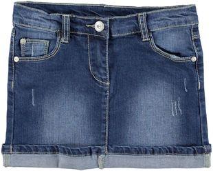 Minigonna in jeans elasticizzato sarabanda STONE WASHED-7450