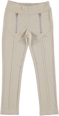 Pantalone misto viscosa dal taglio classico sarabanda BEIGE - 0434