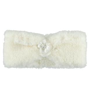 Elegante scaldacollo ecopelliccia sarabanda PANNA - 0112