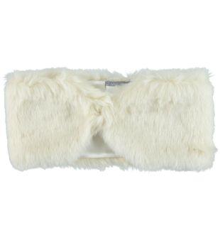 Collo in eco pelliccia per bambina sarabanda PANNA - 0112