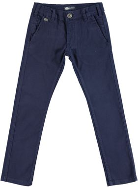 Pantalone modello chinos slim in twill di cotone stretch sarabanda NAVY - 3854