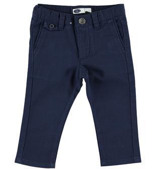 345a71bc74758f Pantalone slim fit in speciale tessuto operato sarabanda. Pantalone slim fit  in speciale tessuto operato per bambino da 6 mesi a 7 anni Sarabanda
