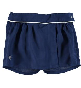 Graziosa gonna pantalone in viscosa sarabanda NAVY-3547