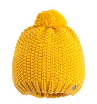 Cappello in tricot con pon pon per bambino sarabanda GIALLO-1615