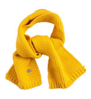 Sciarpa in tricot per bambino sarabanda GIALLO-1615