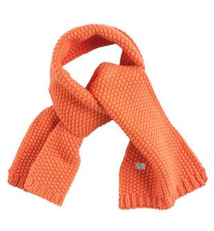 Sciarpa in tricot per bambino sarabanda ARANCIO-2211