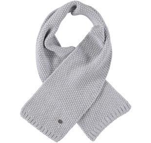Sciarpa in tricot per bambino sarabanda GRIGIO MELANGE-8992