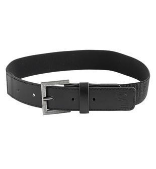 Cintura elastica con finali in ecopelle per bambino sarabanda NERO-0658