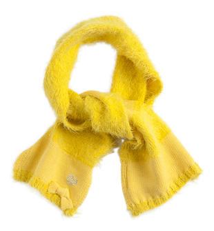 Sciarpa effetto pelliccia per bambina sarabanda GIALLO-1433