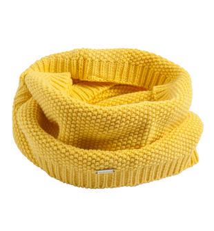 Scaldacollo in tricot misto cotone lana grana di riso sarabanda GIALLO-1433