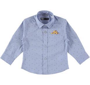 Camicia elegante con fazzoletto sarabanda AVION-MULTICOLOUR-6J14