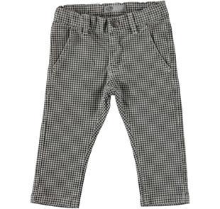 Elegante pantalone aspetto vintage sarabanda GRIGIO-0518