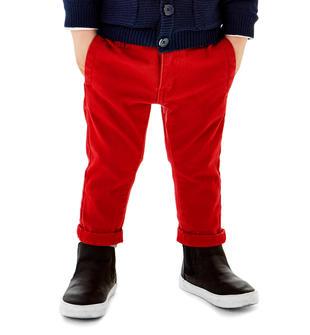 Pantalone modello chino sarabanda ROSSO-2253