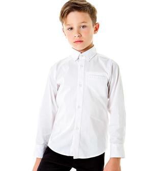 Camicia classica con taschino sarabanda BIANCO-0113