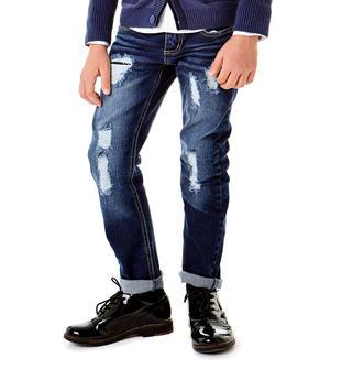 Jeans slim fit con finte rotture sarabanda BLU-7750