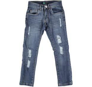 Grintoso jeans slim fit effetto delavato sarabanda STONE WASHED-7450