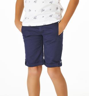 Pantalone corto in speciale tessuto armaturato sarabanda NAVY-3854
