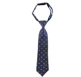 Cravatta a piccoli pois sarabanda NAVY-3854