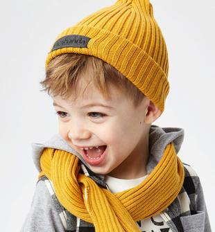 Cappellino modello cuffia in tricot misto cotone sarabanda OCRA-1536