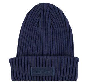 Cappellino modello cuffia in tricot misto cotone sarabanda NAVY-3854