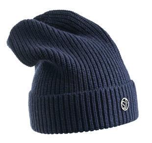 Cappello modello cuffia a coste larghe sarabanda NAVY-3854