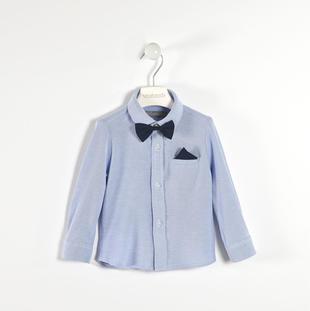 Camicia 100% cotone con pochette e papillon sarabanda AVION-3621