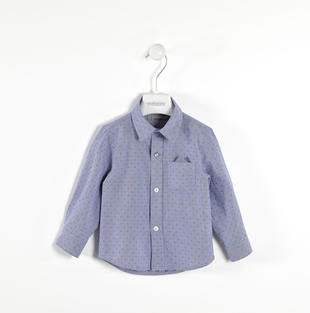 Elegante camicia 100% cotone sarabanda NAVY-3854