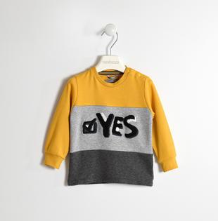Maglietta 100% cotone con stampa effetto spugna sarabanda OCRA-1536