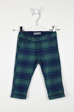 Pantalone fantasia scozzese sarabanda VERDE-4554