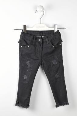 Pantalone slim fit sarabanda NERO-0658