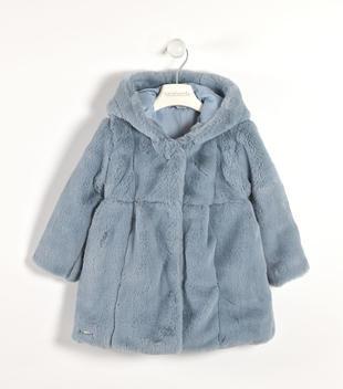 Elegante eco pelliccia con cappuccio sarabanda CARTA ZUCCHERO-5831