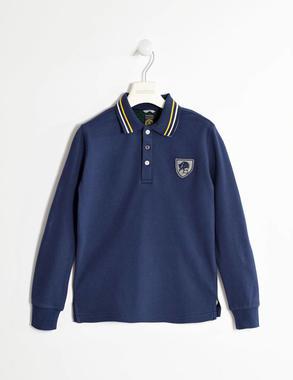 Polo britisch school style sarabanda NAVY-3854