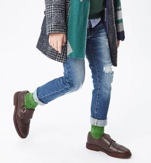 Jeans con strappi per bambino sarabanda STONE WASHED-7450