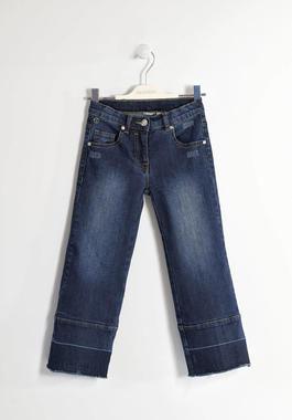 Pantalone denim modello gaucho sarabanda BLU-7750