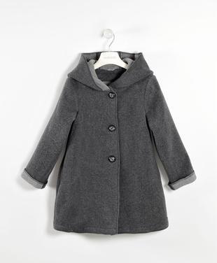 Morbido cappotto misto lana sarabanda GRIGIO SCURO MELANGE-8963