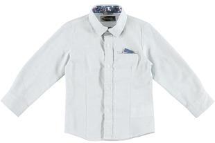 Camicia 100% cotone con pochette sarabanda AVION-3727