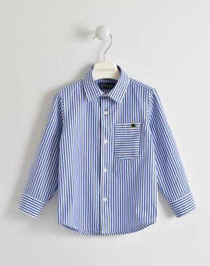 Elegante camicia 100% cotone rigato sarabanda ROYAL-3746