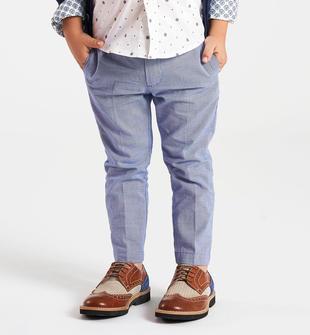 Pantalone in ordito 100% cotone sarabanda ROYAL-3746