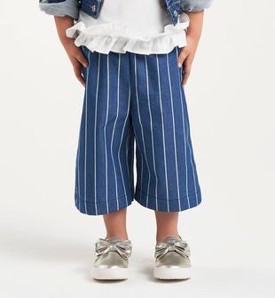 Pantalone gessato 100% cotone sarabanda STONE WASHED-7450