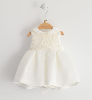 Elegante vestito neonata da cerimonia minibanda PANNA-0112