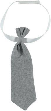 Cravatta neonato in sofisticato tessuto  GRIGIO MELANGE-8969