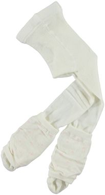 Calzamaglia neonata con scaldamuscolo a pois minibanda PANNA - 0112