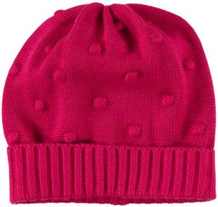 Cappello neonata a cuffia in tricot minibanda FRAGOLA-2365