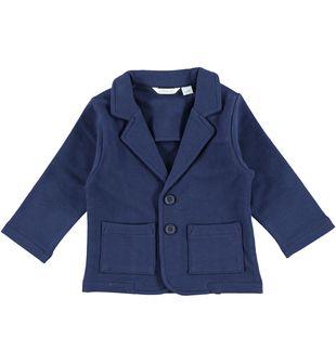 Giacca per neonato modello blazer minibanda NAVY-3854