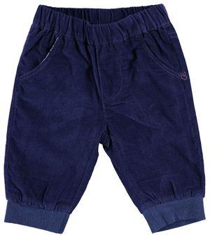 Pantalone neonato in morbido velluto a coste  NAVY-3854